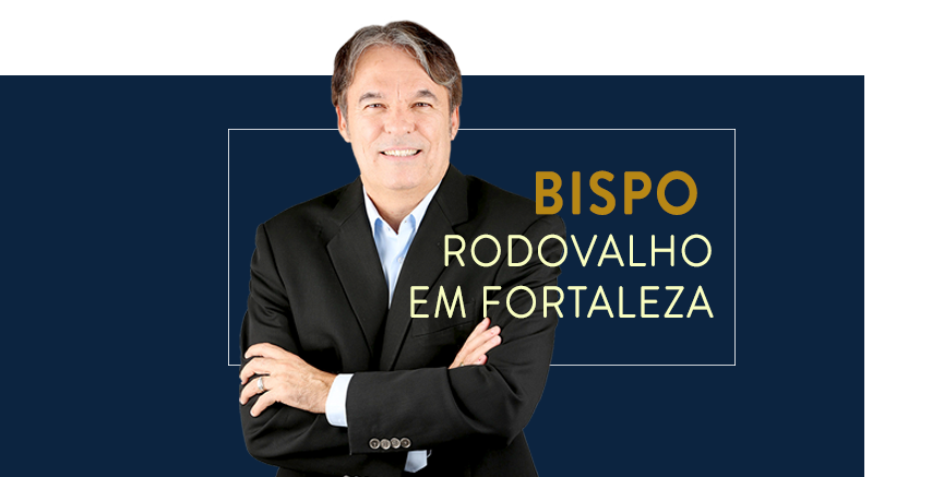 Bispo Rodovalho ministra Batalha Espiritual 3, em Fortaleza/CE