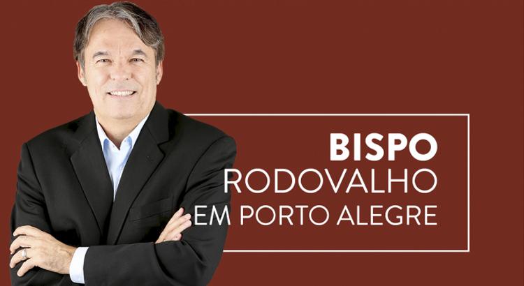 Final de semana tem Bispo Rodovalho em Porto Alegre/RS com a Conferência Vida com Esperança