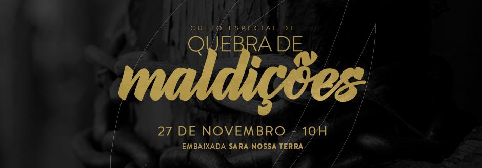Bispo Rodovalho realiza Culto de Quebra de Maldições Especial em Brasília