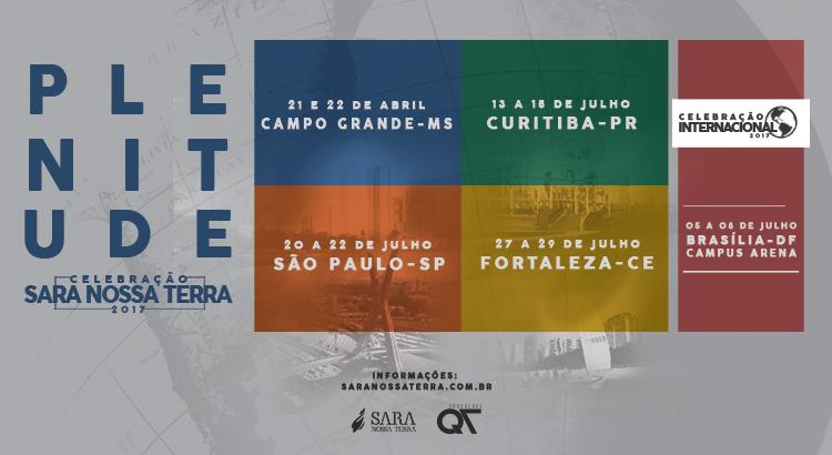 Participe da Celebração Sara Nossa Terra – Mato Grosso do Sul!