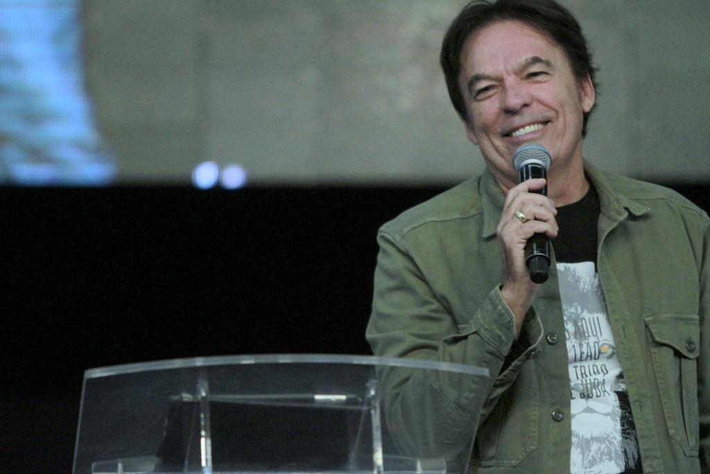 Bispo Rodovalho fala sobre a integridade do coração de um líder durante o TAL em Brasília