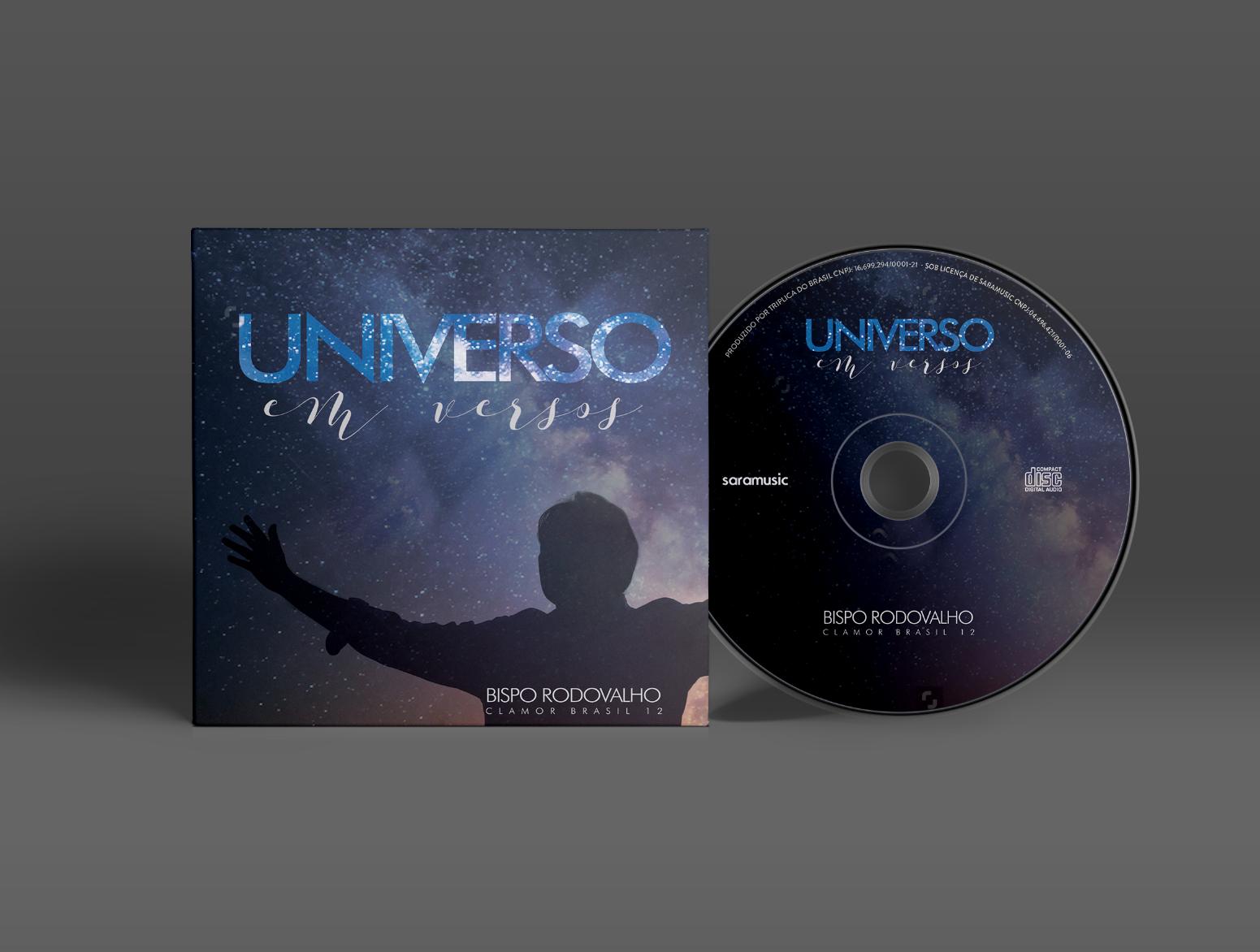 Baixe agora mesmo duas músicas do Novo CD do Bispo Rodovalho, Universo em Versos