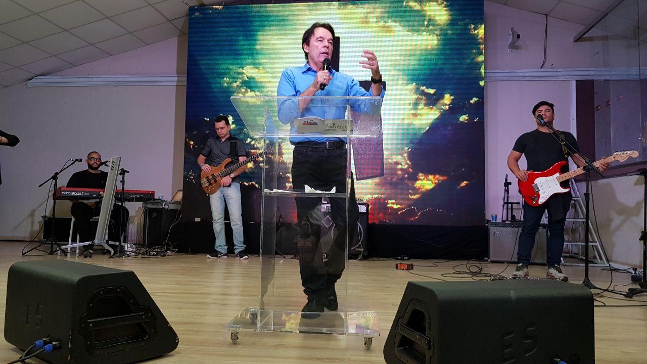 Confira como foram as palestras do Bispo Rodovalho em Curitiba e Gramado
