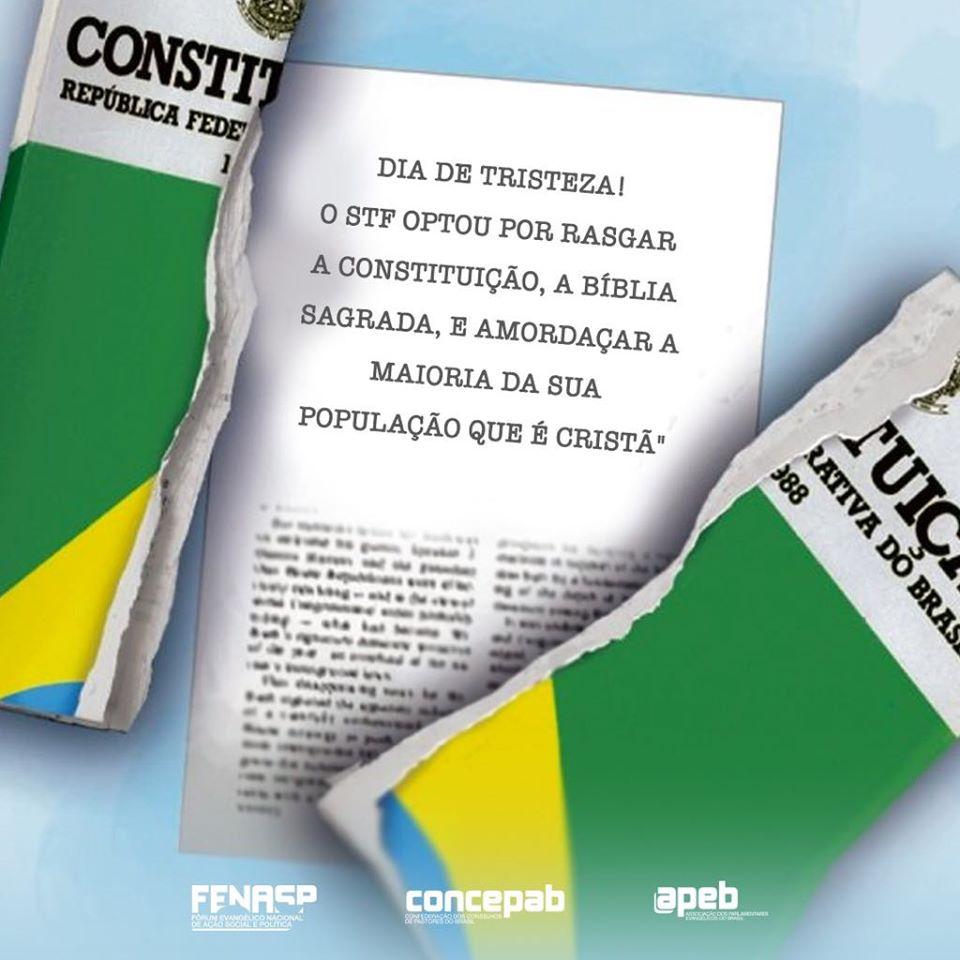 Concepab declara repúdio à decisão do STF
